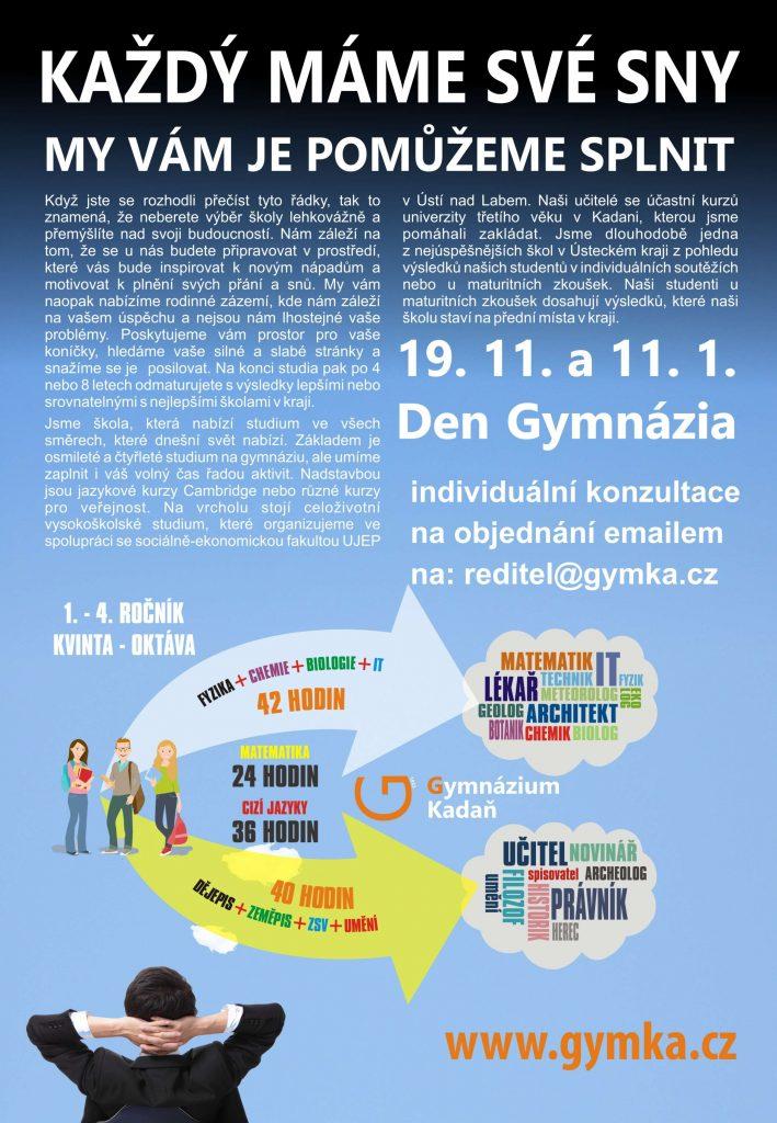Den Gymnázia Kadaň