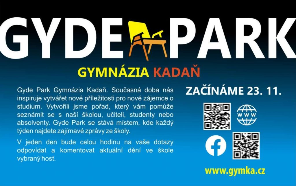 Gyde Park Gymnázia Kadaň
